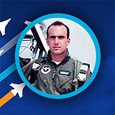 1988 Photo of Ray Wright as an Air Force Pilot